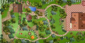 Проектирование земельного участка