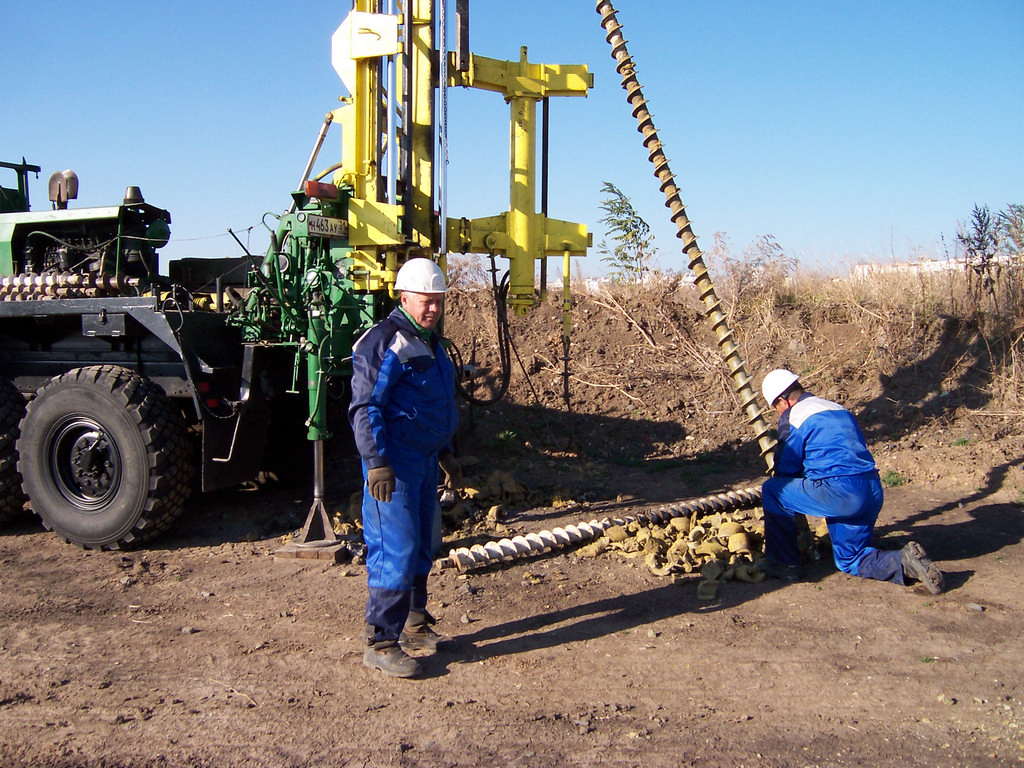 инженерно-геологические изыскания
